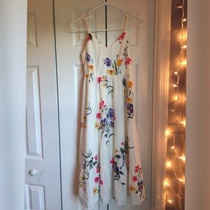 Old navy fit and flare midi dress